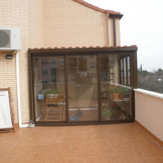 Cerramientos de vidrio templado