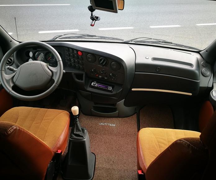 Autocaravana Perfilada GIOTTI: Servicios de Isvacars Talleres