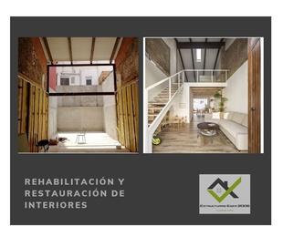 Rehabilitación y restauración de interiores