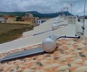 Montajes de placas solares de agua caliente en Cuenca