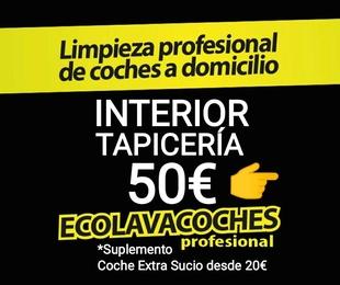 Interior Tapicería 50€/ Indícanos Dirección Dia Hora y vemos disponibilidad
