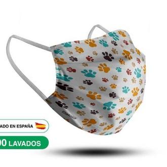 Mascarillas higiénicas reutilizables +90 lavados