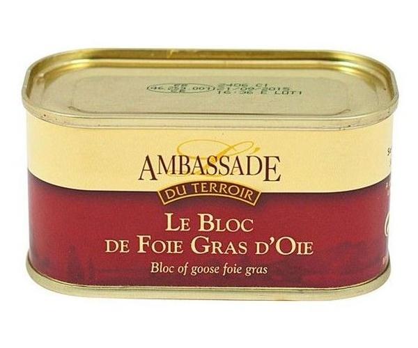 Bloc de foie gras de Oca