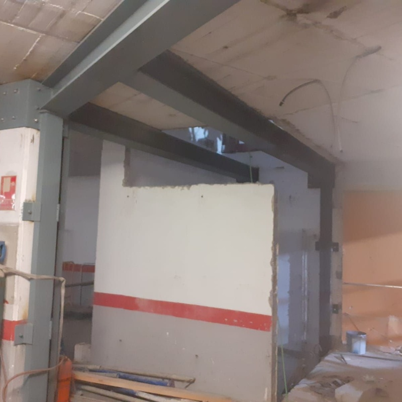 Refuerzos de estructuras: Nuestros servicios de Cerrajería Inox Las Salinas
