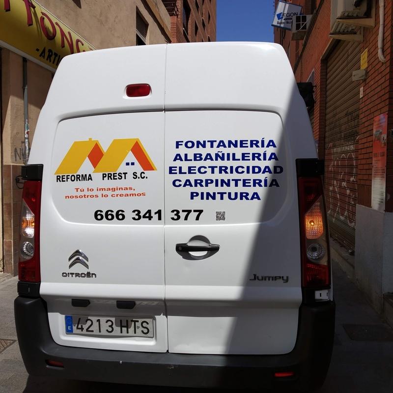 Rotulación de vehículos: Nuestros servicios de Gorp Difusión