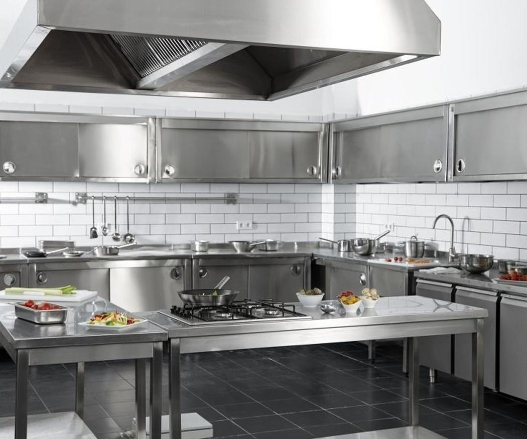 Acero inoxidable, el material que necesita tu maquinaria de cocina