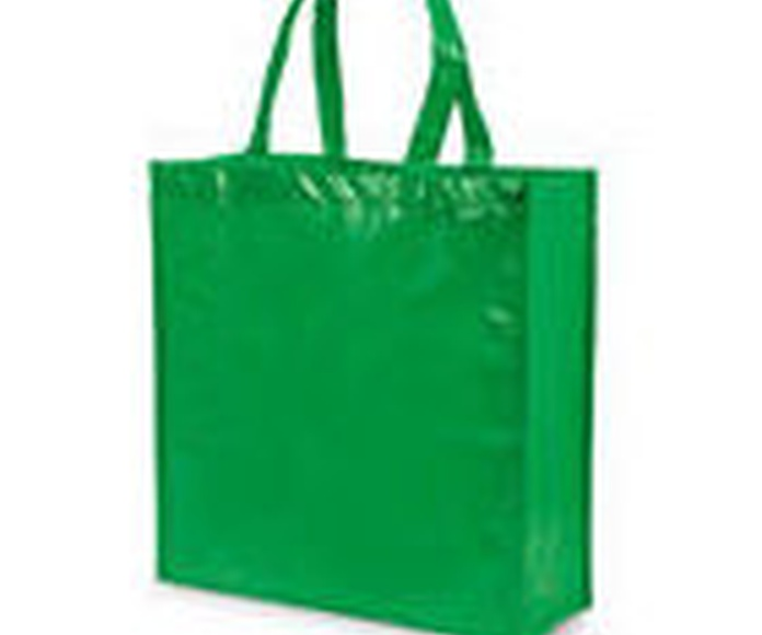 Bolsa tejido sin tejer DIVIA verde