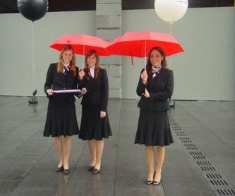 Alquiler de materiales para eventos en Bilbao: Servicios de Klick & Go