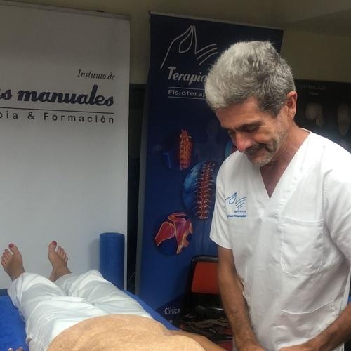 Curso quiromasaje en Terapias Manuales Bilbao. Grupo finde semana. Año 2021.