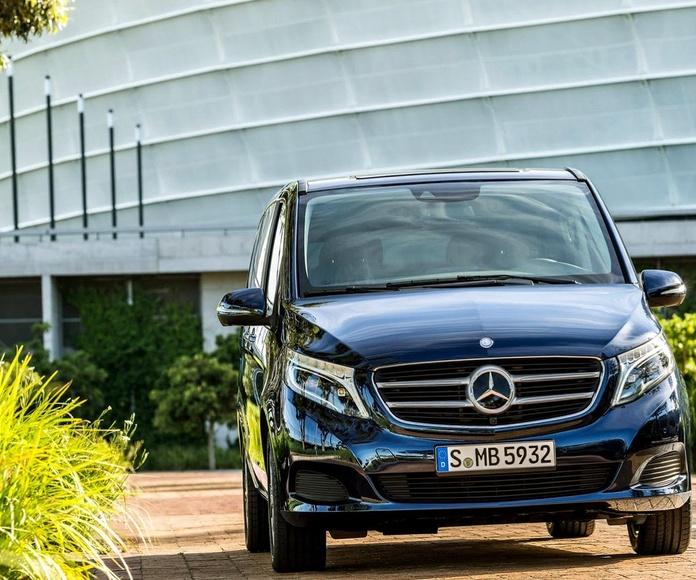 Alquiler de vehículos con conductor: Servicios de Madrid Transfer