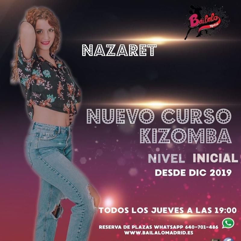 Kizomba nivel Inicio: Clases de Baile Online de Báilalo Madrid