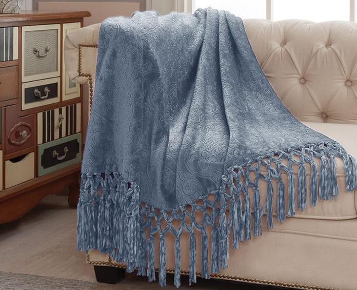 Mantas y plaids: Catálogo de Los Alces Textiles