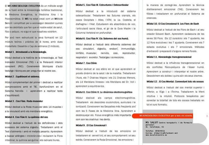SEMINARIOS DE FORMACIÓN Y CRECIMIENTO PERSONAL