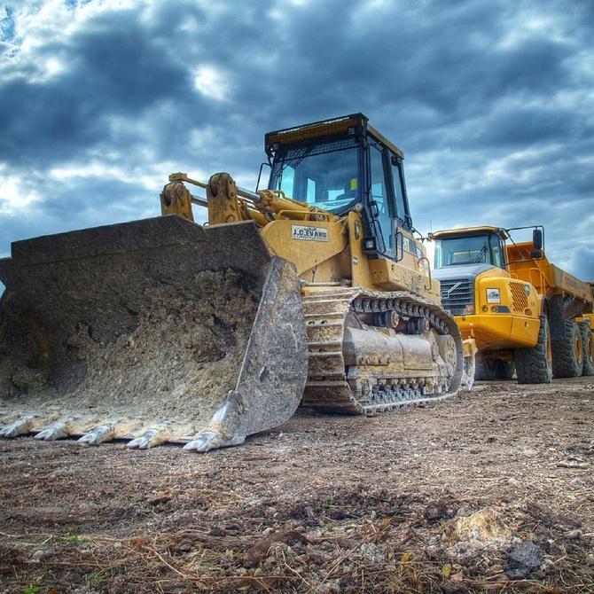 Maquinarias empleadas en la construcción y sus características