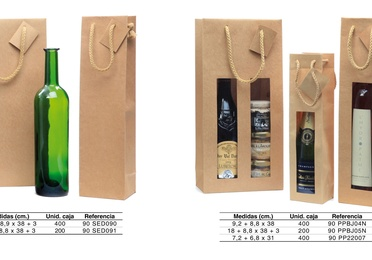 Bolsas botella Modelo Lux Nature