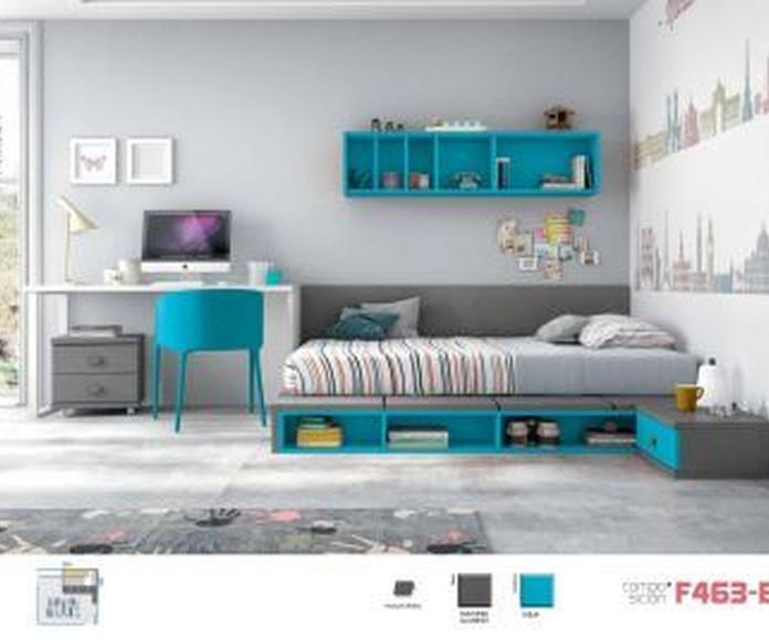 Dormitorio juvenil: Productos de Muebles Liverty