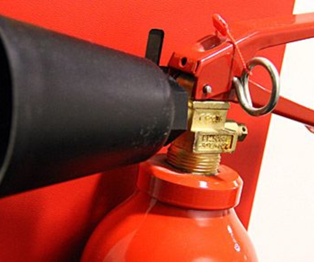 Los extintores de espumógeno