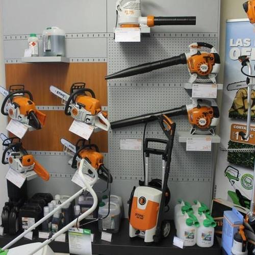 Venta y reparación de maquinaria de jardinería en Soto del Real