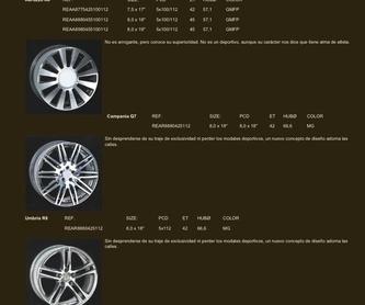 Venta Neumaticos MICHELIN: Neumáticos Primeras Marcas  de Big Sur Neumáticos