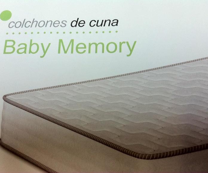 """Colchón de Cuna """"Baby Memory"""""""