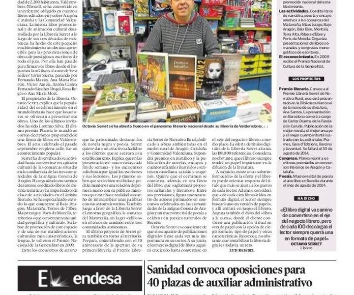 Octavio Serret. Gestor Cultural
