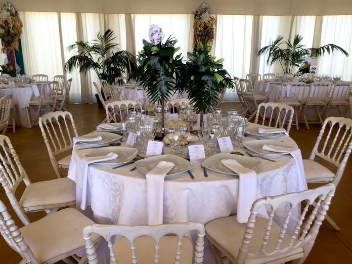 Carpas para interiores y exteriores: Servicios de Catering José Román