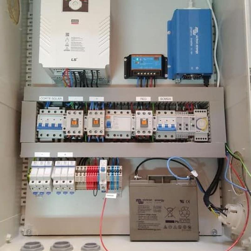 Motores de pozos de bombeo: Servicios de Fimara Solar