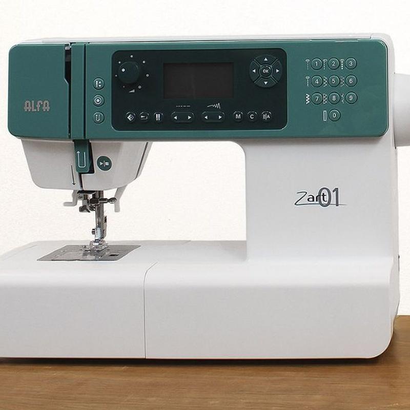 Alfa Zart 01: Productos de Maquinas de Coser - Servicio técnico y repuestos