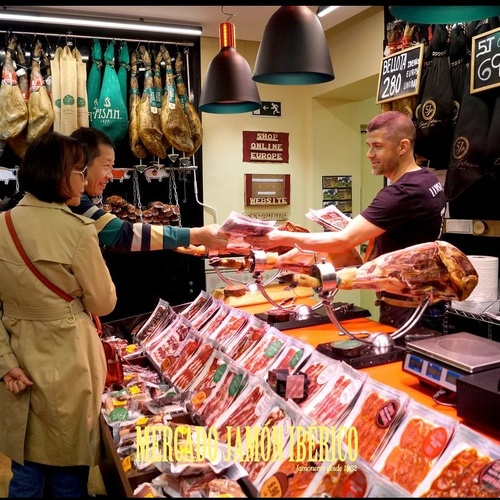 Tiendas de jamón en Madrid