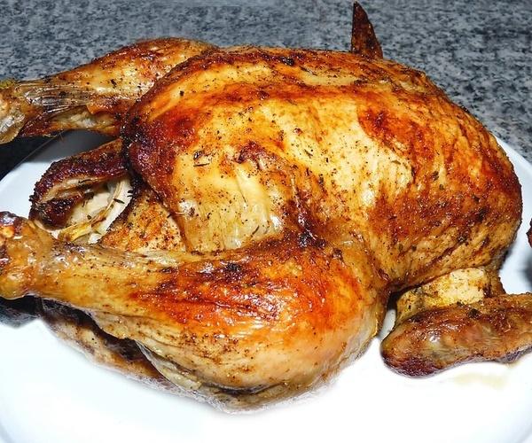 Venta de pollos asados