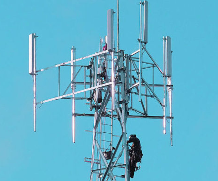 Antena 4G causante interferencias Dividendo Digital