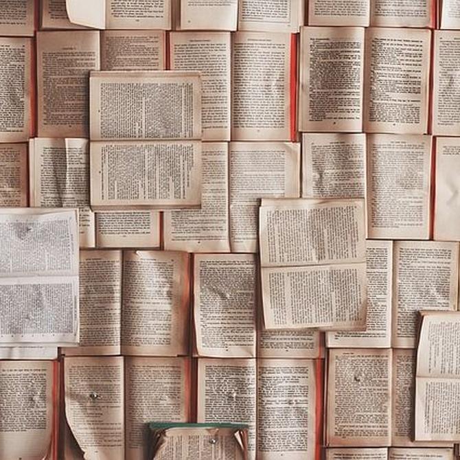 La promoción de libros a través de carteles