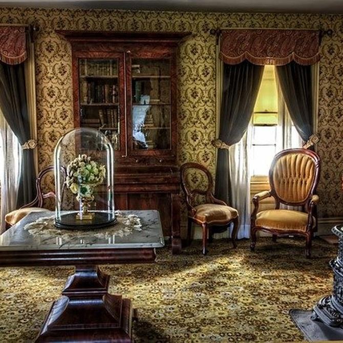Cómo decorar con muebles antiguos restaurados