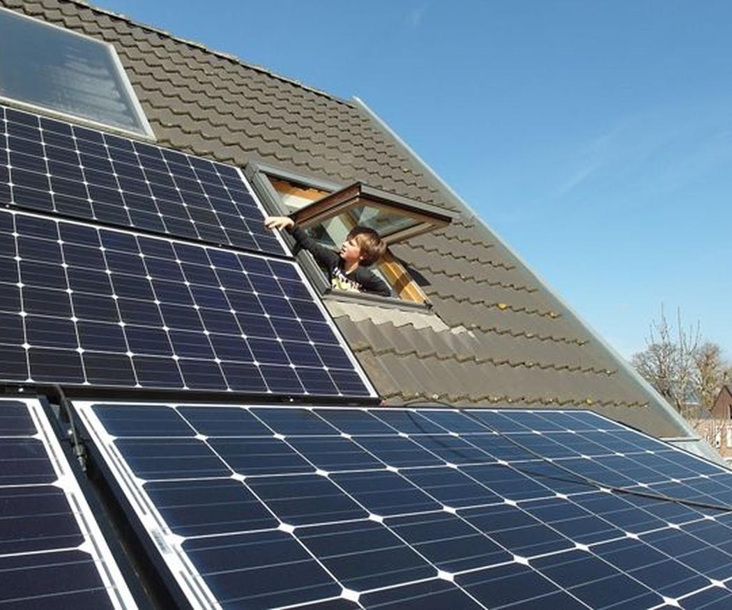 Paneles solares para viviendas