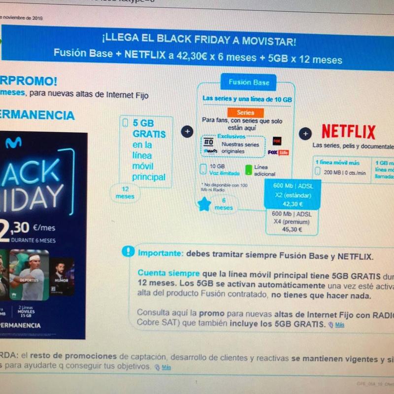 LLEGA EL BLACK FRIDAY A MOVISTAR: Servicios de Televideo Terrassa, S.L.