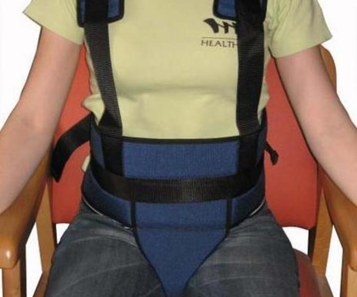 cinturón pélvico con tirantes