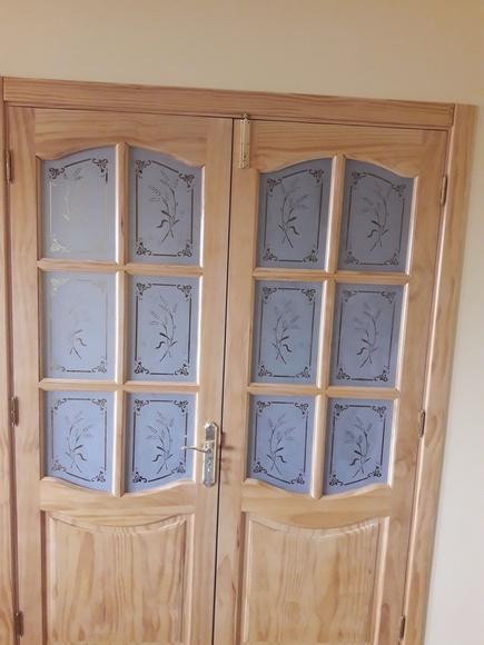 Vidrios con decoración grabada transparente: Servicios de Cristalería La Herradura