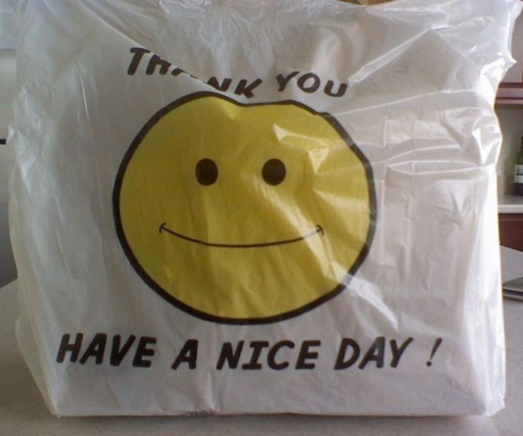 Origen de las bolsas de plástico