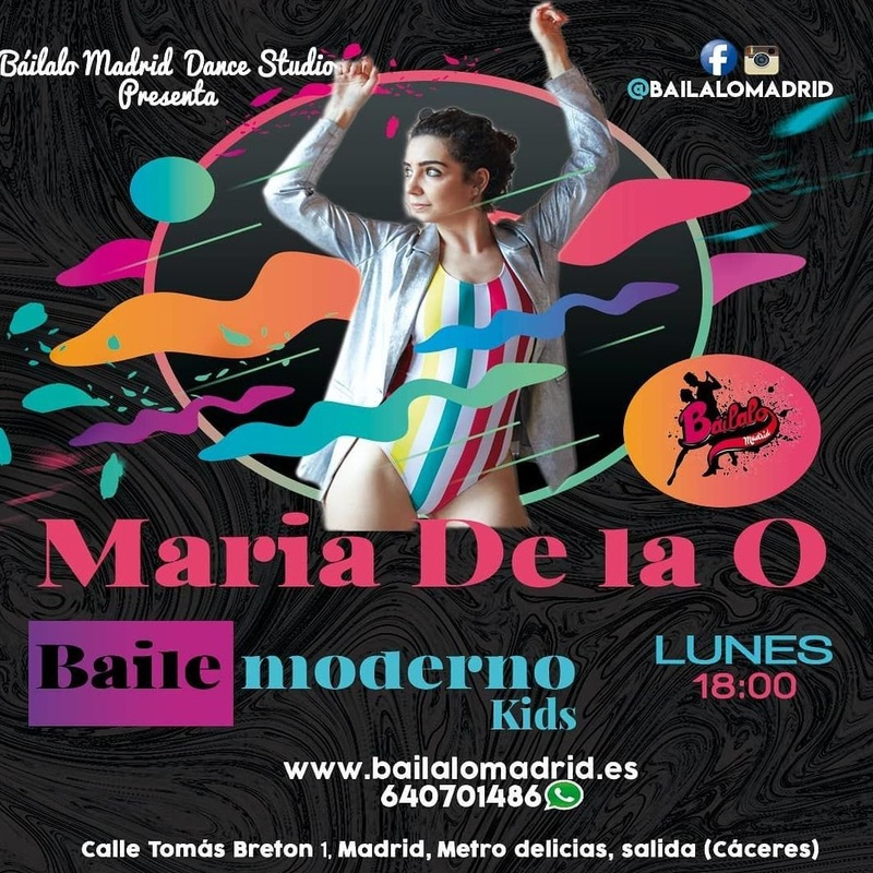Baile moderno KIDS: Clases de Baile Online de Báilalo Madrid