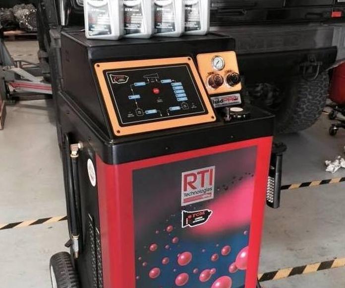 Máquina de cambio de aceite