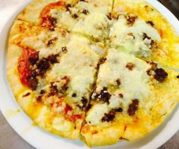 Pizzas: Nuestros Productos de Albokak Jatetxea