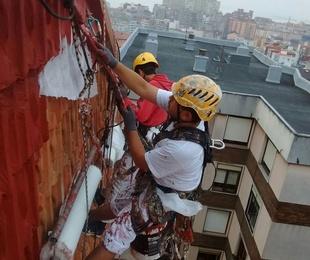 fachadas de tejas, desprendimientos, goteras, problemas de humedad,  .