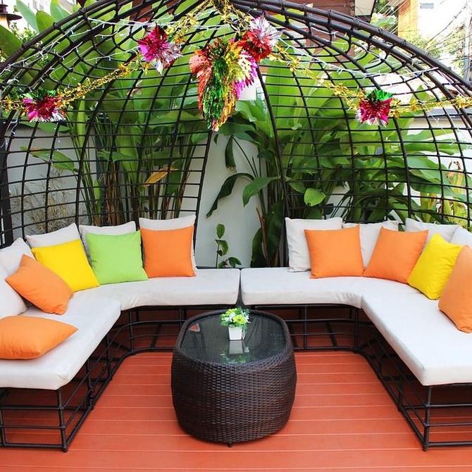 Cinco ventajas de las terrazas con cortinas de cristal