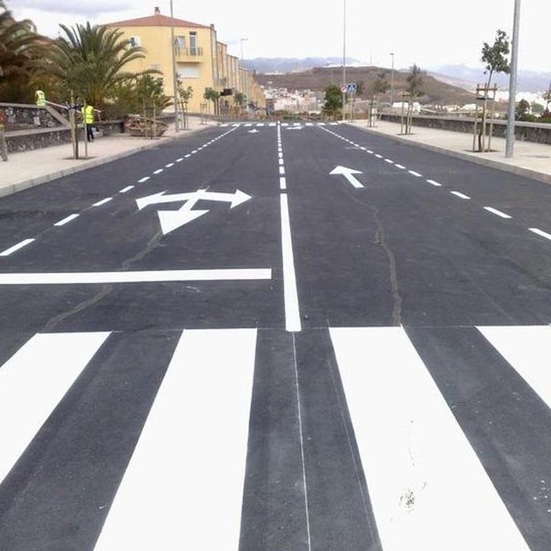 Asfaltos en Tenerife