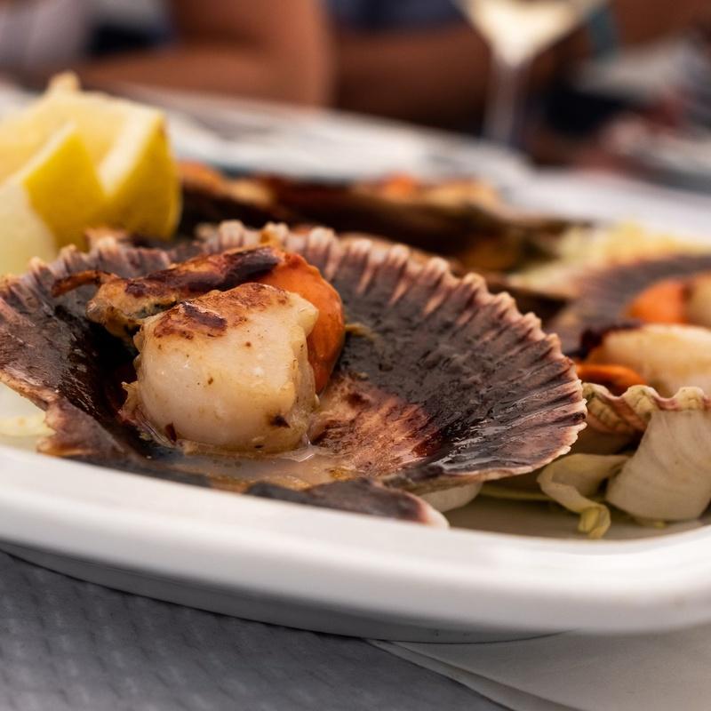 Mariscos: Nuestra Carta de Restaurante Coto do Rano