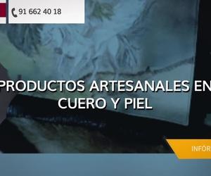 Artesanía en piel en Alcobendas: Aguamanil Piel