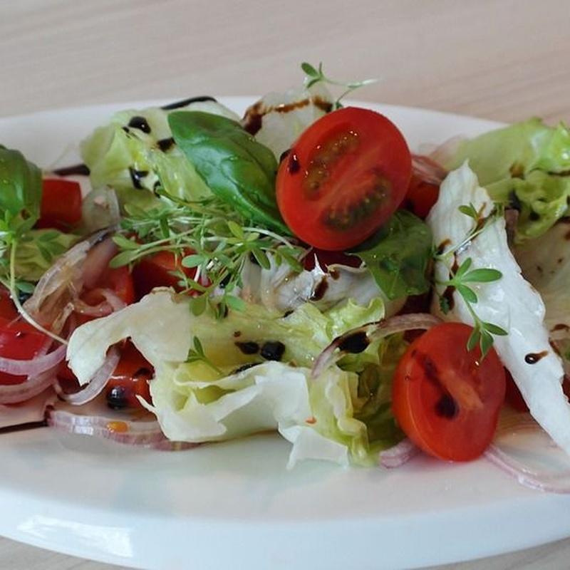 Ensaladas: Carta y menús de Sidrería El Escalón