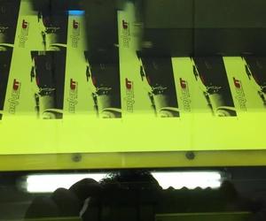 Grabación de tarjetas en impresora uvi