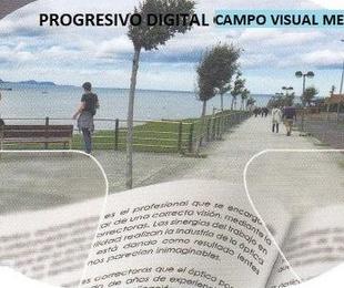 Progresivo digital, campo visual medio