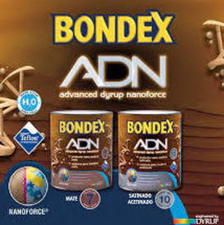 BONDEX ADN, Protector lasur decorativo al agua 10 años.